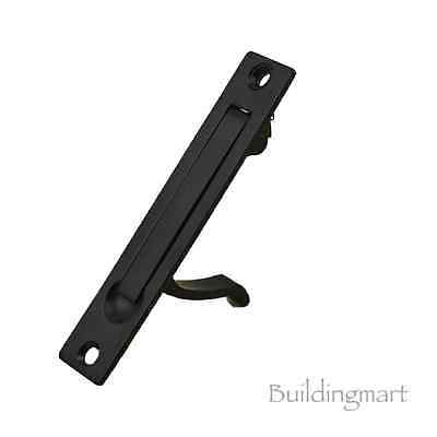 Matt Black Finish Rectangular Door Flush Pull (1148MB) - Sliding Door Handle