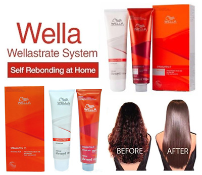 WELLA WELLASTRATE PERMANENT Straight System Hair