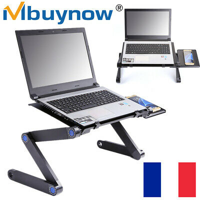 Table de Lit Ordinateur Portable Pliable multi-fonction pour Bureau Tablette FR