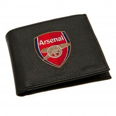 Arsenal Football Club Embroidered Crest Wallet with Free UK P&P