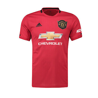 Manchester United FC Official Football Gift Mens Home Kit Shirt 2019/20