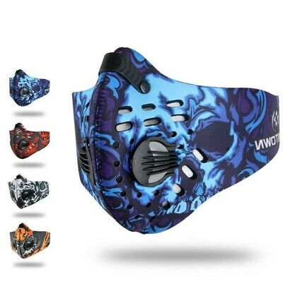 Unisex Dust-Proof Face Mask Anti-Pollution Activated Carbon For Outdoor Cycling