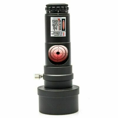 """1.25"""" Eyepiece Laser Collimator Alignment For Telescope 2"""" Adapter Red Laser"""