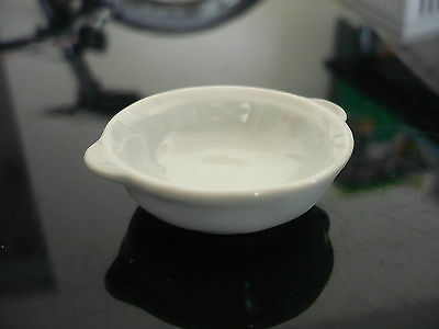 Dollhouse Miniatures White Bowl Cookware Kitchenware Supply Deco
