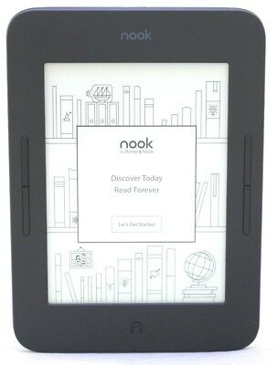 Barnes & Noble Nook Glowlight 3, 8GB e-Reader BNRV520 Wi-Fi - Black  44-8B
