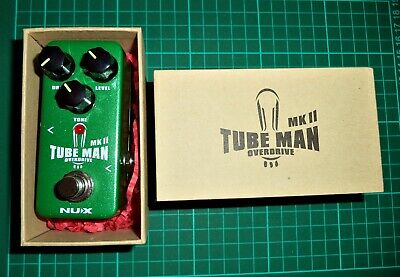 NUX Tube Man MKII Overdrive Pedal - Ungigged & Boxed