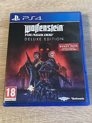 Wolfenstein Youngblood Deluxe Edition (PS4) ||| INKLUSIVE BUDDY PASS |||