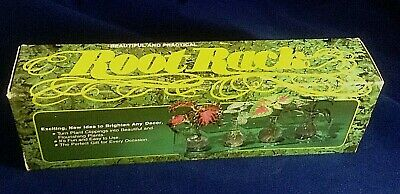 Mid Century BuyProducts Inc. ROOT RACK Grow Plant Clippings Lucite Glass NIB
