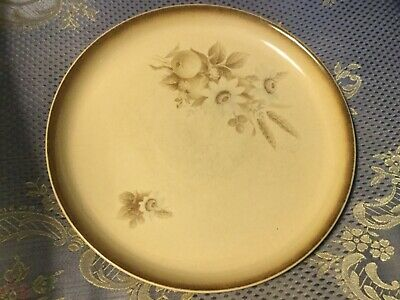 3  DENBY MEMORIES PLATES England GOOD CONDITION HANDCRAFTED Earth tones
