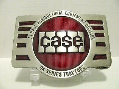 J I Case Ag Equipment Division 94 Series Tractor 1983 Collectors Belt Buckle