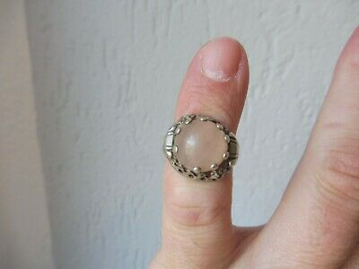 Beautiful, Old Ring __835 Silver__with Beautiful Stone __
