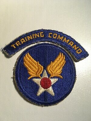 Original WWII U.S. Army Air Force Air Training Command Patch & Tab
