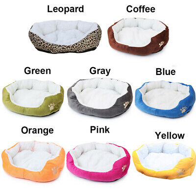 Indoor Pet Dog Cat Bed Puppy Cushion House Soft Warm Kennel Mat Blanket Washable