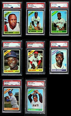 1966 Topps Baseball Low Number Complete Set NM
