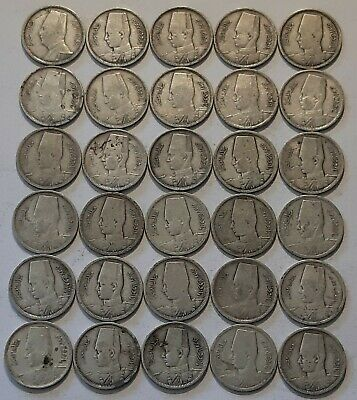 EGYPT / 2 Piastres,Lot of 30 Silver Coins !!