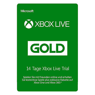 Xbox Live GOLD (GLOBAL) Trial Mitgliedschaft 14 Tagen