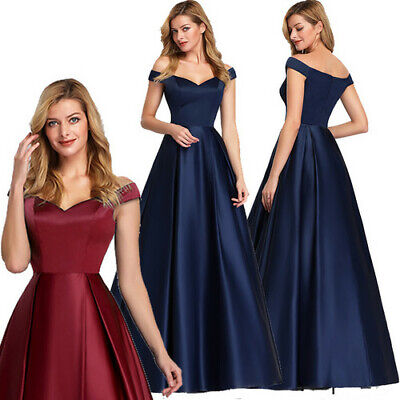 Ever-Pretty UK Cap Sleeve A-line Prom Gowns Formal Evening Cocktail Dresses 7934