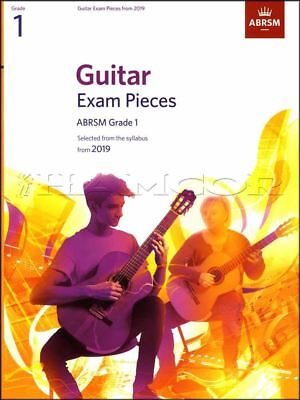 Guitar Exam Pieces ABRSM Grade 1 from 2019 Sheet Music Book Classical Carulli