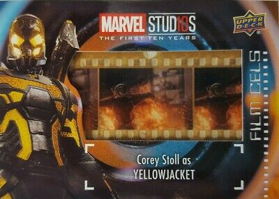 2019 Marvel Studios First Ten Years FILM CELS Relic Card FC-26 YELLOWJACKET SP