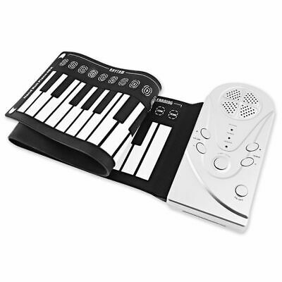Multi Style Portable 49 Keys Flexible Silicone Roll Up Piano Folding Electronic