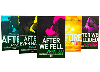 Anna Todds The After Series 5 Books Collection Box Set