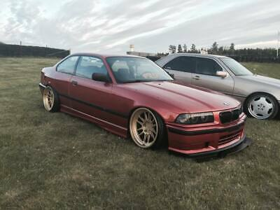 BMW E36 Coupe 3Series Front Felony Form Replica Overfenders Wide Body Kit Flares