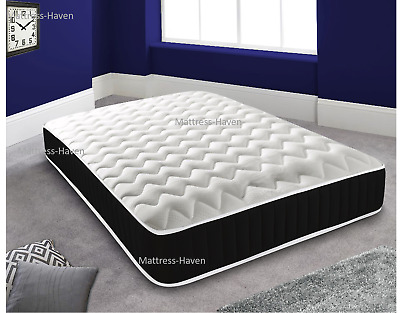 Cool Blue Gel Memory Foam Sprung Mattress 3ft, 4ft, 4ft6 Double, 5ft King, 6ft