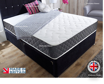 "Memory Foam Mattress choice of 8"" Thick  - 10"" Deep - 12"" Extra Deep Quality Mat"