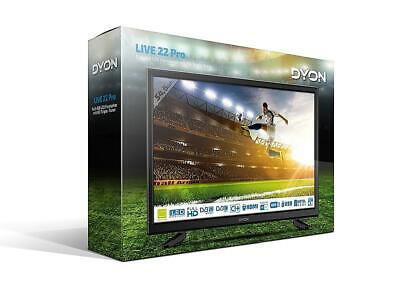 Dyon Live 22 Pro 21,5 Zoll LED Fernseher Full-HD Triple Tuner ohne Anleitung
