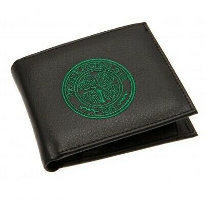 Celtic Football Club Embroidered Crest Wallet with Free UK P&P