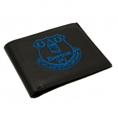 Everton Football Club Embroidered Crest Wallet BL with Free UK P&P