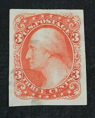 CKStamps: US Stamps Collection Scott#184E5 3c Essay Unused NG Thin Stain