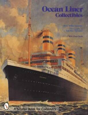 Ocean Liner Collectibles Refernce Guide incl Cruises Postcards Ship Glasses