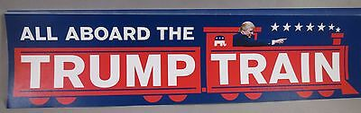 Wholesale Lot Of 10 All Aboard The Trump Train Bumper Stickers President 2020 Us