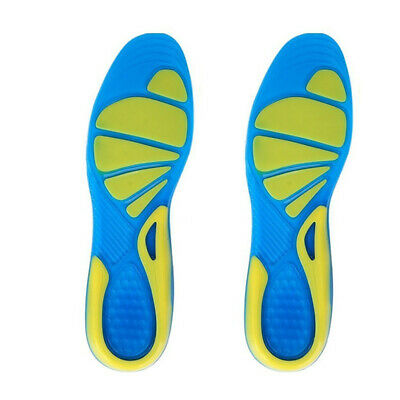 NEW Men Gel Orthotic Sport Running Insoles Insert Shoe Pad Arch Support Cushion