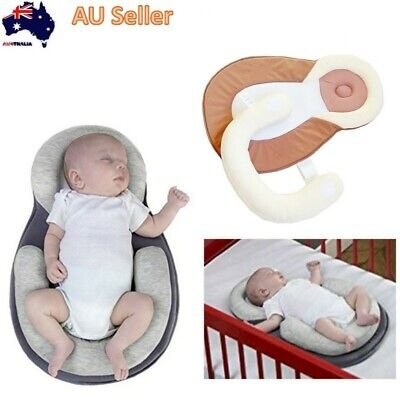 Ergonomic Anti Flat Head Baby Bed - Sleepy Dreams Portable Baby Bed AU