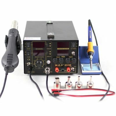 Soldering Station Iron Griff AT 8586 AT936b 936A 937A 5 Holes 220V 700W AIP
