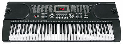 Digital 61 Tasten Keyboard E-Piano Klavier 255 Sounds Rhythmen Lern Funktion LCD