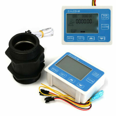 2 inches Water Sensor Meter DC24V Controller Flowing Replacement Practical