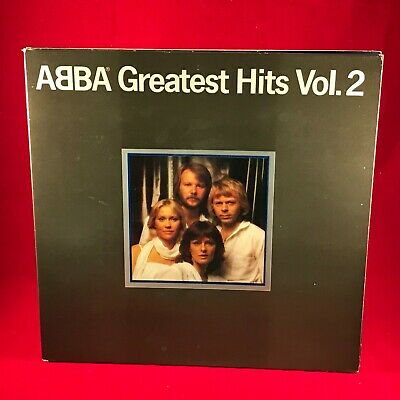 ABBA Greatest Hits Vol. 2 1979 UK Vinyl LP + INNER EXCELLENT CONDITION volume #