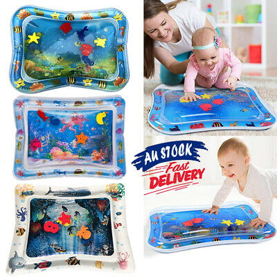 Baby Tummy Sea World Inflatable For Time UE Water Play Mat Fun Toddlers Infants