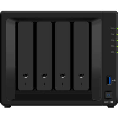 Synology K/DS918+ + 4X ST4000VN008 DiskStation DS918+ HDD HDD,SSD Serial