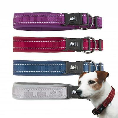 Hurtta Comfort Padded Adjustable Reflective Safe Collar All Sizes for Dogs Puppy