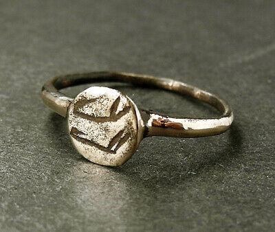 Genuine ancient Medieval Æ ring - Found on Cyprus