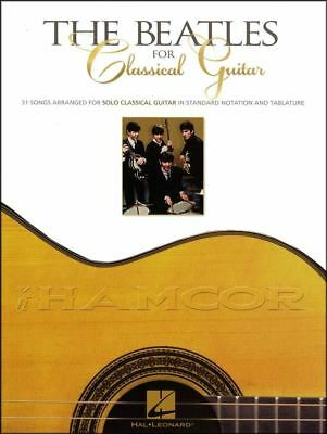 The Beatles for Classical Guitar TAB & Music Book SAME DAY DISPATCH