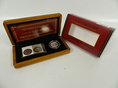 1908-2008 Canada 50 Cents Sterling Silver Coin Set