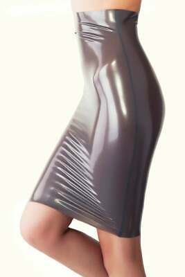 Latex Catsuit Rubber Gummi High Waist Mid Dresses Party Wear Sexy Customize .4mm
