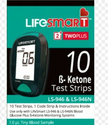 LifeSmart 2TwoPlus meter + 3 × 10  Ketone Test Strips (For LS-946)  Novalang