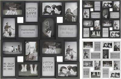 Extra Large 16 Aperture 3D Multi Hanging Photo Picture Collage Frame