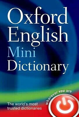 Oxford English Word Mini Dictionary Vocabulary Ideal For Students Pocket Size